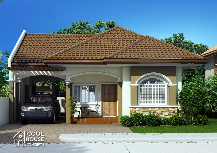 Small House Plan front view