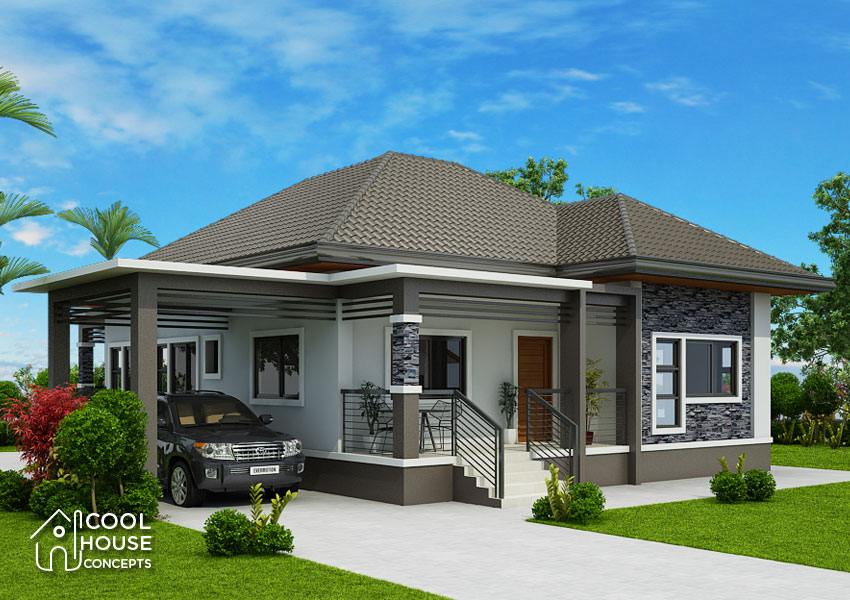 Elevated 3 Bedroom House Design - Cool House Concepts