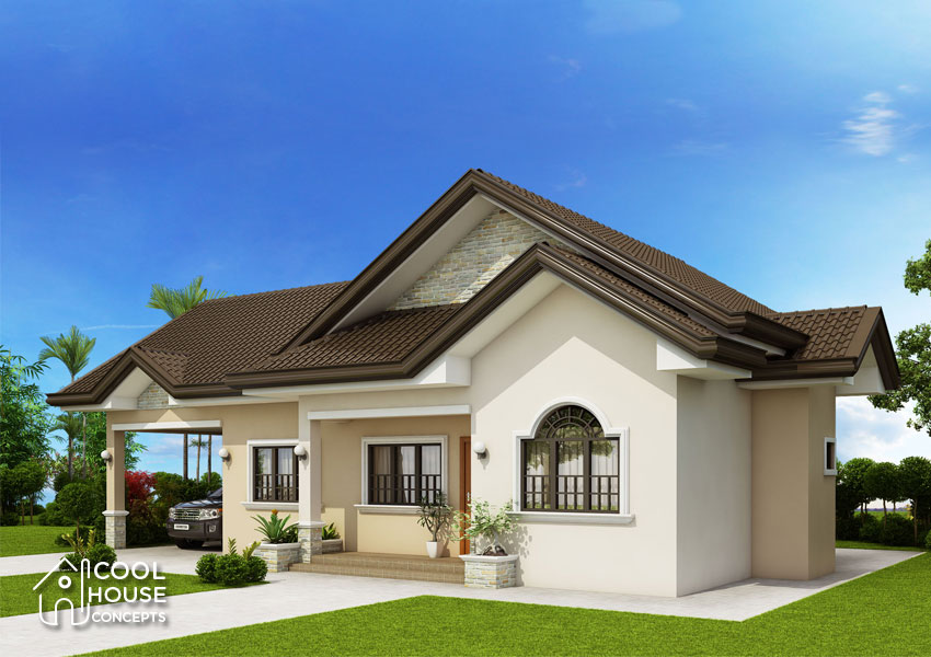 Three Bedroom Colonial House - Cool House Concepts
