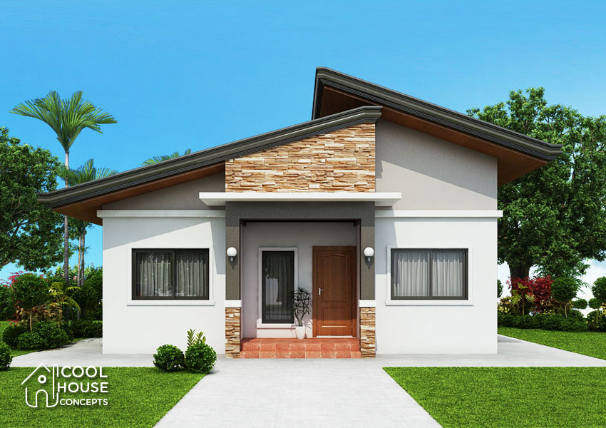 3 bedroom bungalow house plan cool house concepts - Bungalow House With 3 Bedrooms