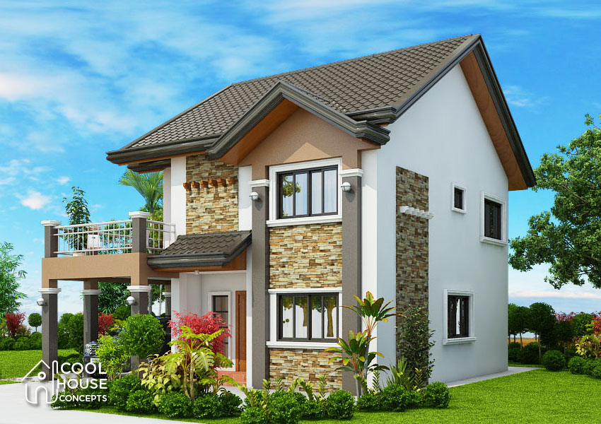 Four Bedroom Two Storey House Design - Cool House Concepts