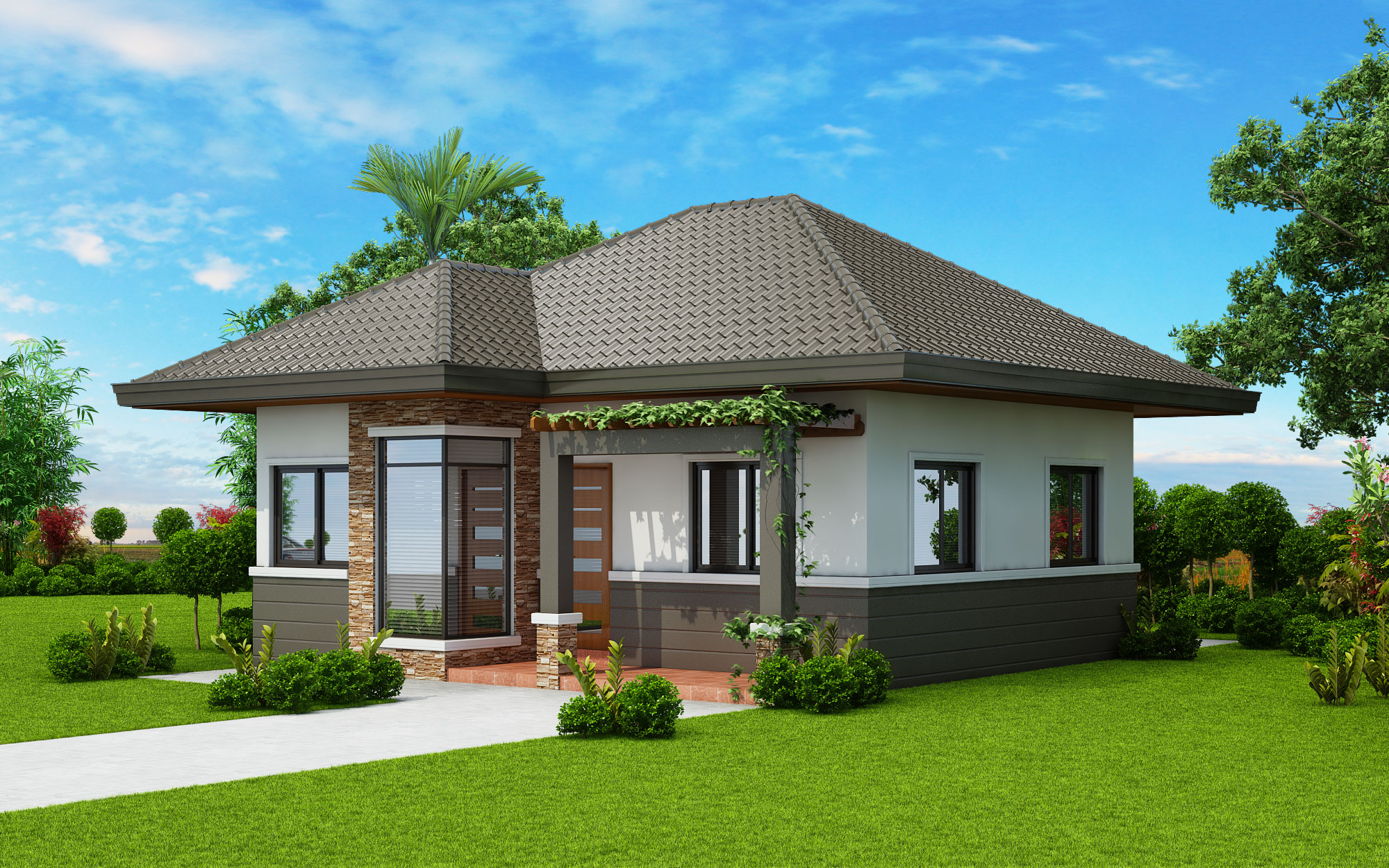 CHC18 012 Cam3 SLIDER - 11+ Indian Small House Design 2 Bedroom Gif
