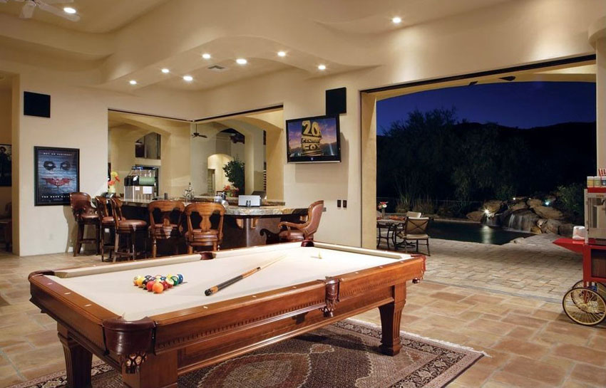 Man Cave Ideas You Can Incorporate In Your Home To Give The Man Of - Make your own gaming table