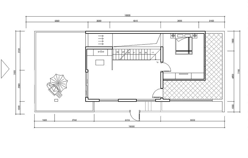 Three Storey House Plan second floor