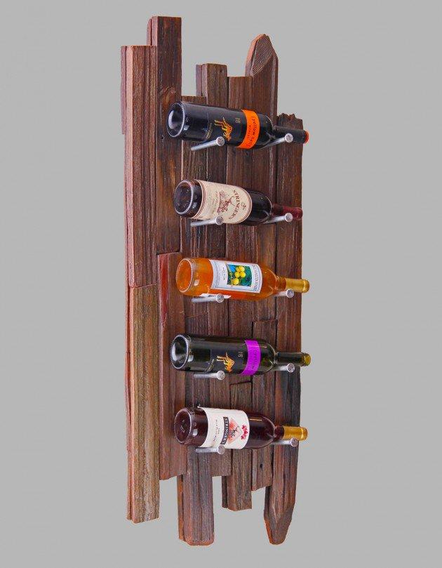 Upcycled Wine Rack