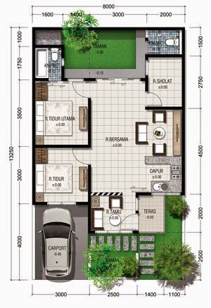 one storey house plan ground