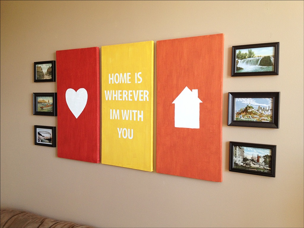 Canvas Painting Ideas You Ll Love For Your Home Cool House Concepts
