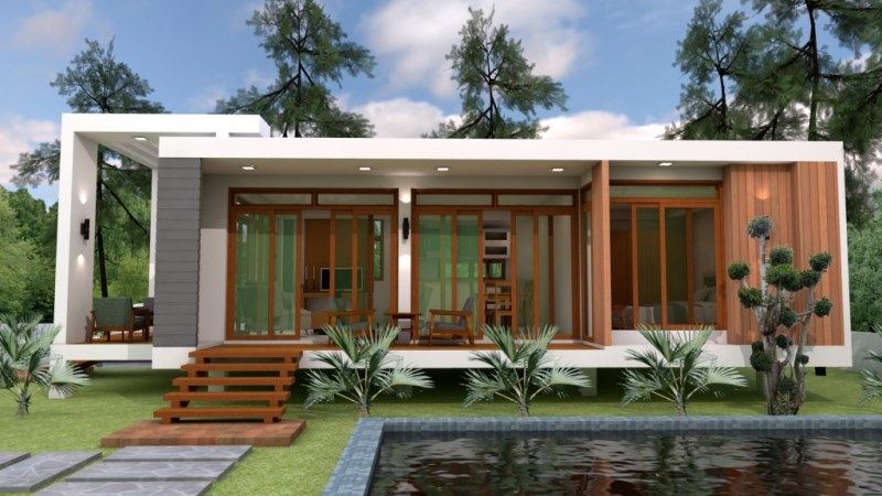 One Bedroom Cottage House Design Cool House Concepts Magnificent One Bedroom House Designs
