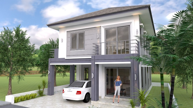 Four Bedroom Classic Two Storey Concept Cool House Concepts