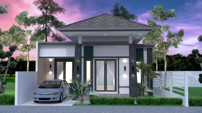 One Side Firewall 3 Bedroom house Plan - Cool House Concepts