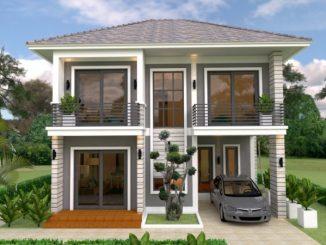 Three Bedroom Two Storey House