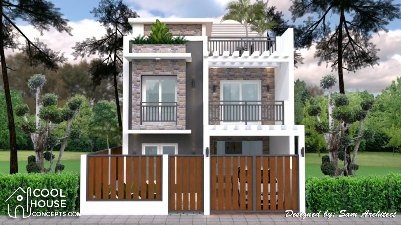 Four Bedroom Two Story With Roof Deck Cool House Concepts