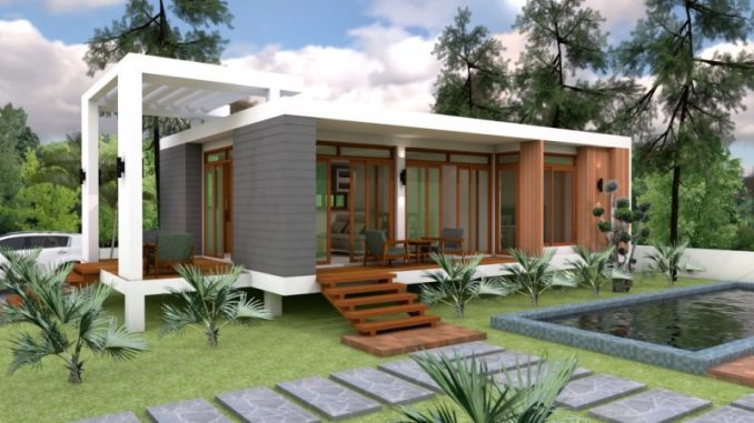 One Bedroom Cottage House Design