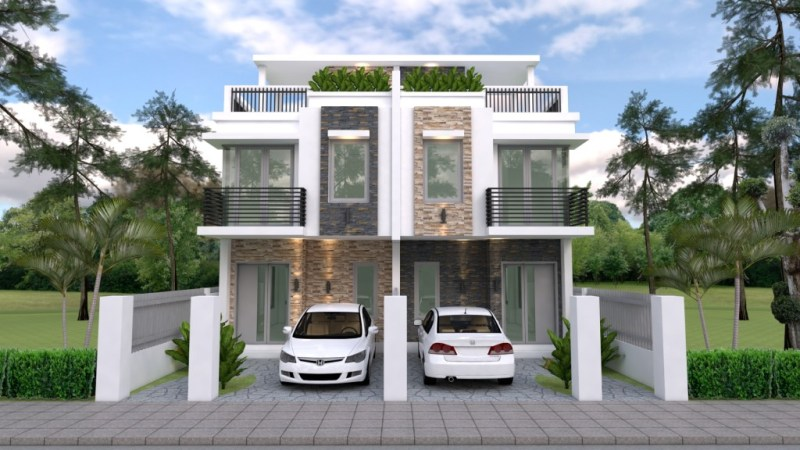 Duplex House Design With 3 Bedrooms Cool House Concepts