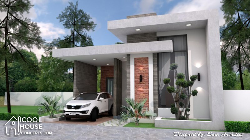 2 7 - View Minimalist Design For Small House Background