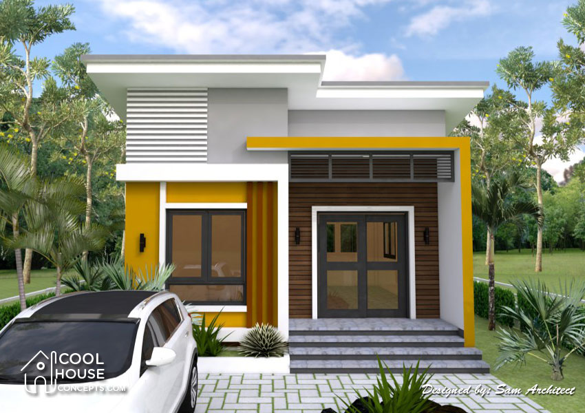2 - 50+ Simple Small House Design 2 Rooms PNG
