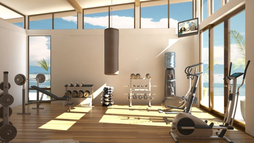 Time To Workout Awesome Home Gym Ideas