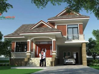 modern two storey house