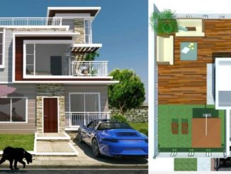4 Bedroom Beach house Plan