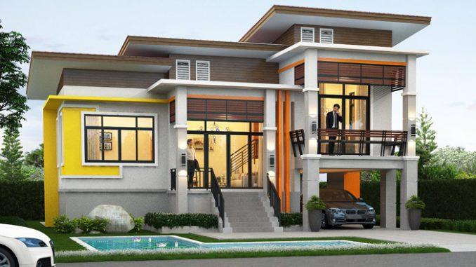 House Floor Plan with 3 Bedrooms