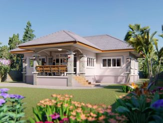 one storey house