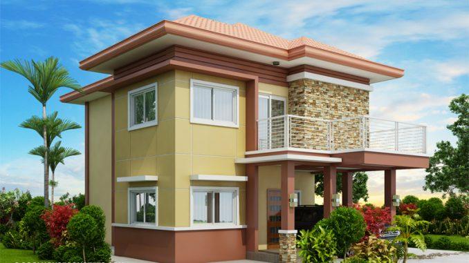 double storey house