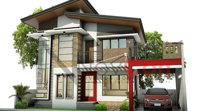 Two Storey House Concept