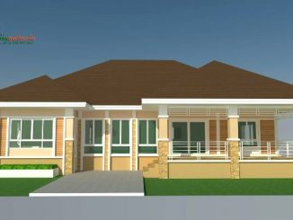 Bungalow House Design with 3 Bedrooms and 2 Bathrooms - Cool ...