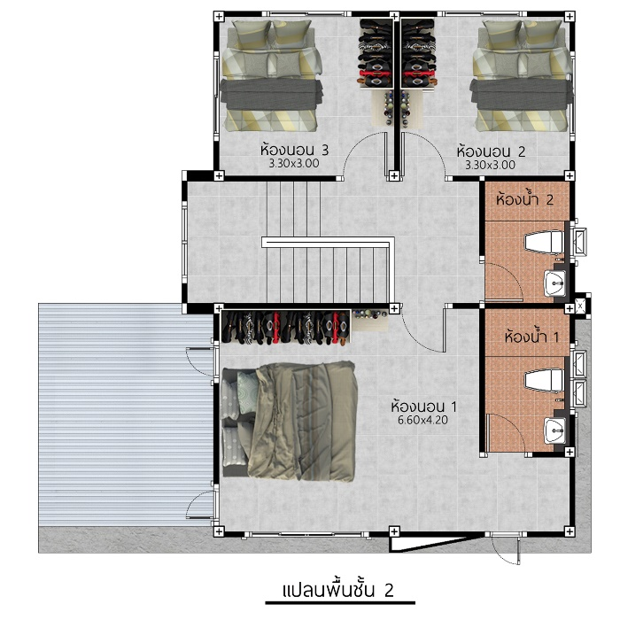 Bigger Is Better Contemporary Four Bedroom Two Storey House Plan Cool House Concepts