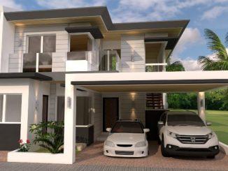 2-storey house