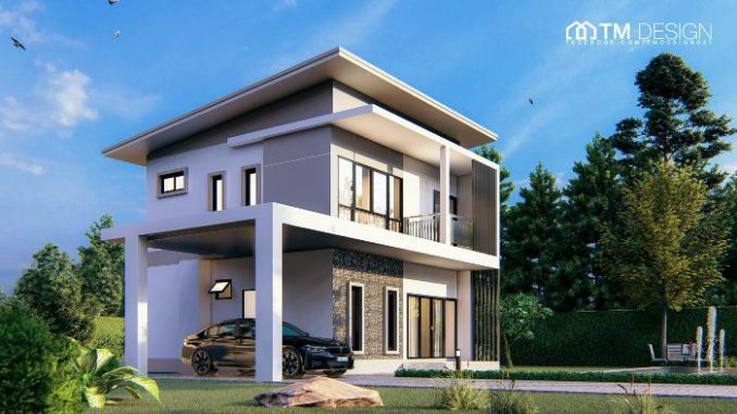 This Modern Two Storey House Design May Give You The Inspiration