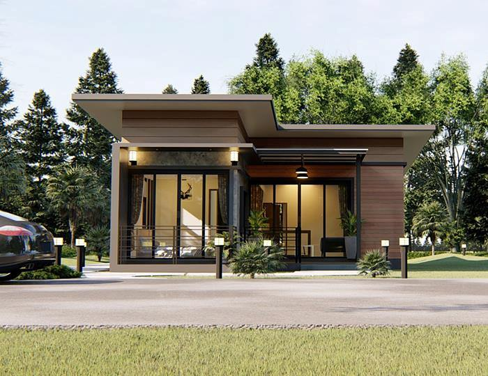Consider This Modern One Storey House Design With Two