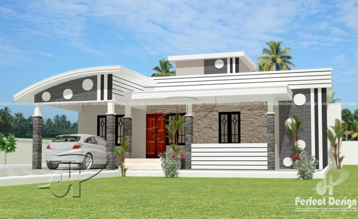 This Captivating One Storey House With Roof Deck May Be Your Dream House Read On Cool House Concepts