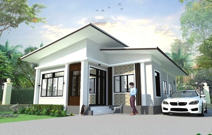 This Single Storey House Design Is Budget Friendly Yet Cozy And Chic Cool House Concepts