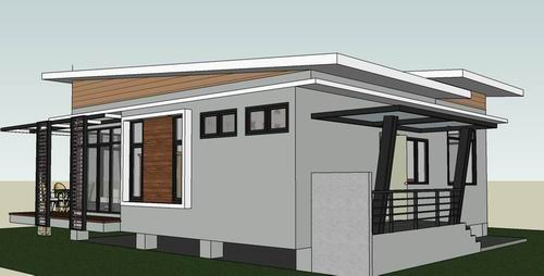 Simple And Affordable Two Bedroom House Design Cool House Concepts