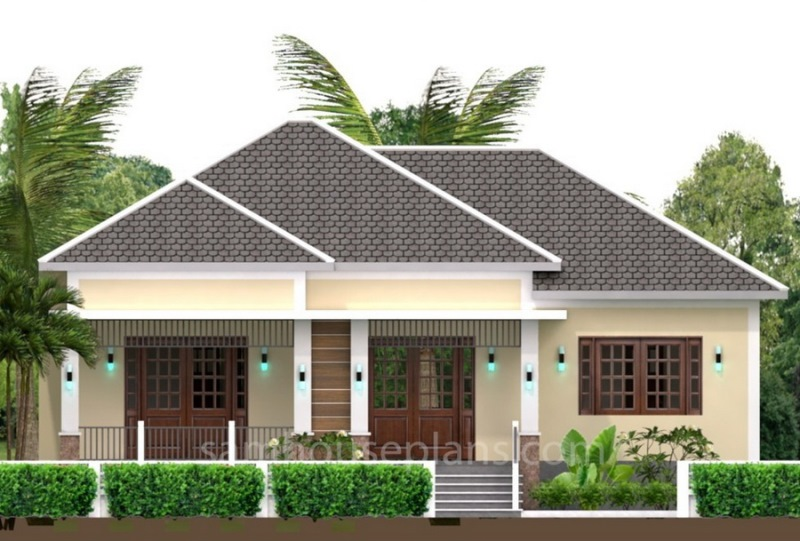 Modern Residential House with Traditional Touch