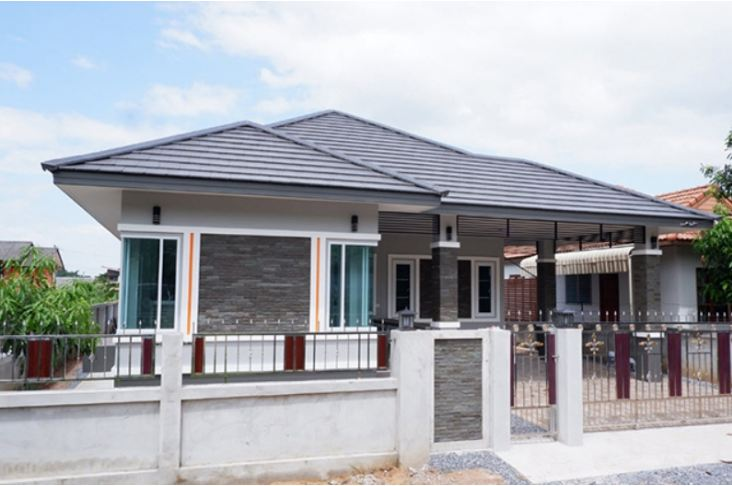 Picture of Beautiful House Design in Cool Grey Shades
