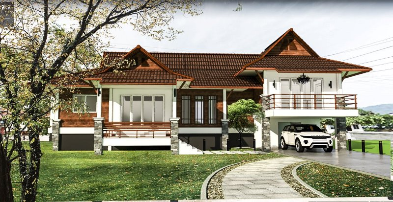 Picture of Split Level House Design with Four Bedrooms