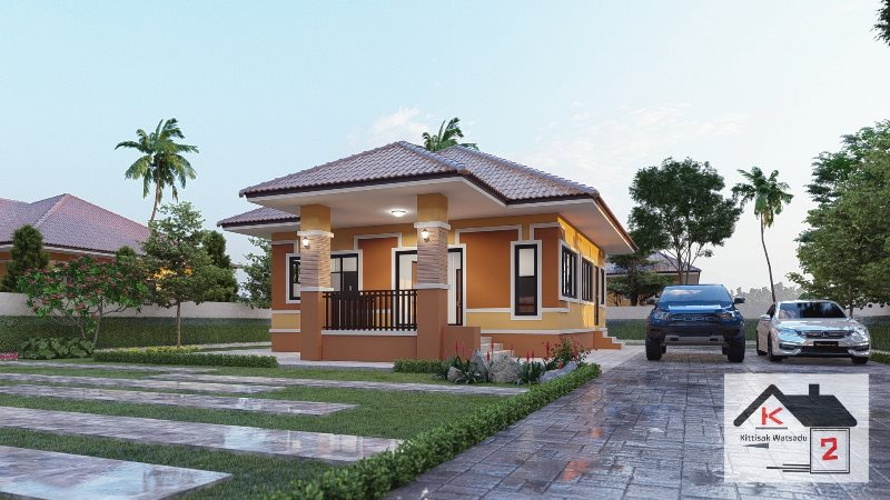 Picture of Modern Elevated House Design with Two Bedrooms
