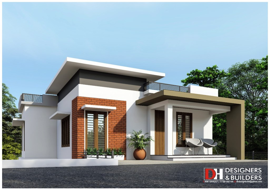 Picture of Modern House Design in Captivating Style with Roof Deck