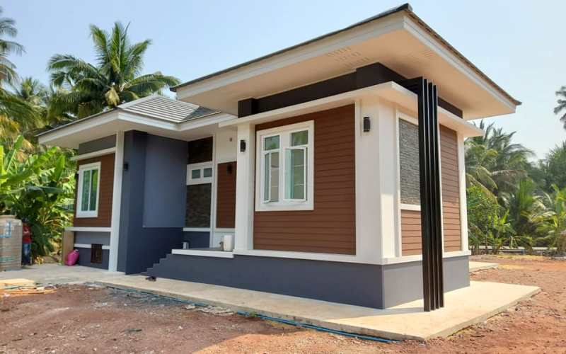 Picture of Exquisite Bungalow Design with Three Bedrooms