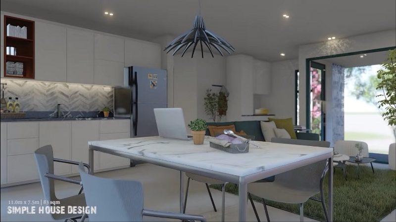 Picture of Contemporary House Design with Spacious & Elegant Verandah